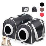 Cat Pet Carrier Bolsa Malha de mochila portátil para animais de estimação Viagem de cachorro respirável Bolsas para atividades ao ar livre Cachorro Bolsas
