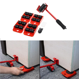 Heavy Furniture Shifter Lifter Wheels Moving Kit Slider Mover Easy Move Removal Heavy Mover