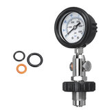 350 BAR Axial Hydraulic Pressure Gauge Test 40MPa 6000PSI Stainless Steel Indicator