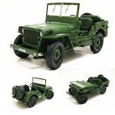 KDW 685006 Legierung ABS 1:18 Militärische Taktische Auto Diecast Modell Öffnen Haube Panels zu enthüllen Motor Spielzeug