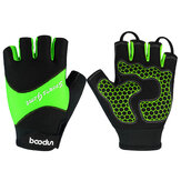 BOODUN Half-Finger Riding Glove Outdoor Motorcycle Riding Cycling Protective Finger Gloves
