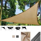 IPRee®3x3mTriânguloSunSail Shade Barraca De Acampamento Ao Ar Livre Toldo Anti-UV Praia Canopy Toldo Shelter Tarp À Prova D 'Água