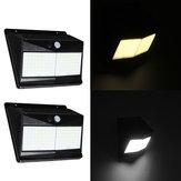 100 LED Solar Motion Sensor Light Outdoor 1000lm Waterproof Security Wall Night Light