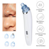Electric Testa nera Vacuum Acne Cleaner Pore Remover Skin