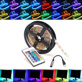 0,5 / 1/2/3/4 / 5M RGB SMD5050 LED Strip Tape Light TV Backlilghting Kit + USB Fjernbetjening DC5V