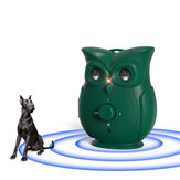 Ultrasonic Dog Repeller Cute Owl 33 FT Distance Dog Anti Barking Training Repeller Rechargeable Gog Aniamal Trainer Device
