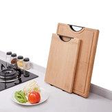 YIWUYISHI Planche à découper en bambou Hachoirs à découper Outil Planche à découper en bambou rectangle Accessoires de cuisine de X