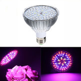 GLIME E27 45W 78 LED Full Spectrum Grow Light Lamp Blub para plantas Hidroponia Legumes AC85-265V