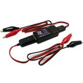 Alta Qualidade Car USB Tester Voltagem Capacidade da corrente Bateria Testeur Monitoring Crocodile Fio Alligator Clips
