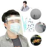 Reusable Transparent  Protective Face Shield Head-mounted Full Face Shield Anti Saliva Splash-proof Safety Covering
