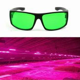 Eye-Protection Plant LED Brille Blendschutz Anti-UV-Grün Gläser für Greenhouse