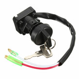 Ignition Switch With 2 Keys For Kawasaki KLF300 BAYOU 300 1997-2003 ATV