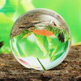 110 MM Temizle Cam Kristal Şifa Topu Fotoğrafçılık Lens Top Küre Süslemeleri