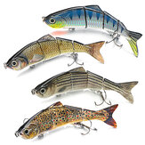 ZANLURE 15CM fish lures 4D Rattle Trout Shad Lures - Pike Zander Salmon Predator Fishing