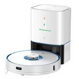 Viomi S9 UV Робот-пылесос для стерилизации Автоматический сбор пыли Подметание Пылесос и мытье шваброй 2700 Па Мощное всасывание LDS Лазер Навигац