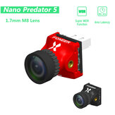 Foxeer Nano Predator 5 Racing FPV الة تصوير 14 * 14mm 1000tvl 1.7mm M8 Lens 4ms Latency Super WDR