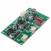 3pcsSANWU®HF69B 6W + 6WデュアルチャンネルステレオBluetoothスピーカーアンプボード電源DC 5Vまたは電源充電管理付き3.7Vリチウムバッテリ