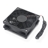 5V USB Router Fan TV Box Cooler 120mm PC DIY Cooler Screws Protective Net Silent Desktop Cooling Fan