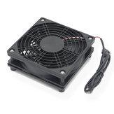 5 V USB Router Fan TV Scatola Dispositivo di raffreddamento 120mm PC Viti di raffreddamento PC fai da te Rete di protezione Silenzioso Ventola di raffreddamento desktop