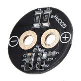 Placa de circuito de supercondensador de 3 piezas 2,7 V 500F placa de regulador de voltaje de condensador Farad Tornillo placa de circuito de pie