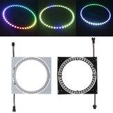 WS2812B 45 Bit 5050 RGB DIY LED Modülü Şerit Halka Lamba Entegre Sürücüler Kurulu DC5V ile Işık