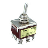 Voltage Toggle Type A Switch For Grade 9-Pole 15A 250VAC 10A 380VAC KN302 120/240VAC ON/OFF
