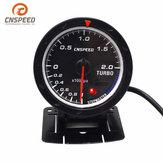 2,5 polegadas 60 milímetros LED Turbo Boost Gauge Pressão de vácuo Pressionar Bar Dial Dialers para carro caminhão