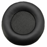 Bakeey 1PC Ear Pads Headphone Earpads PU Leather Sponge Foam Replacement Headset Ear Pad Compatible with Bluedio R+ R-Plus