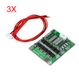3Pcs 4S 30A 14.8V Li-ion Lithium 18650 Batterie BMS Packs PCB Protection Board Balance