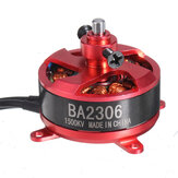 Racerstar RC Brushless Motor BA2306 1500KV 2-3S Support 8040 9050 Prop for Fixed Wing RC Airplane Drone