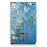 Comprimido de pintura de flores de damasco Caso para Mipad 4 de 8 polegadas