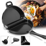 Nonstick Omelet Pan Cocina Desayuno Skillet Egg Frying Maker Portable al aire libre Cooking Equipment