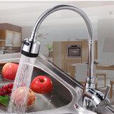 Keukenkraan Massief messing Trekkraan Flexibele warm / koude kranen Waterafvoer