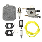 Carburetor Kit For Stihl BG45 BG46 BG55 BG65 BG85 SH55 42291200606 ZAMA C1Q-S68G