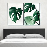 Stampa su tela 1 pezzo Pittura Nordic Green Plant Leaf Canvas Art Poster Stampa Wall Picture Home Decor No Frame