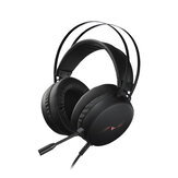 Rapoo VH310 Casque de jeu 7.1 Virtual Surround Channel RGB Gaming Headphones ENC Noise Reduction Microphone 50MM