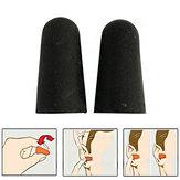 AOTU2ParesTampõesdeOuvido de Esponja de Redução de Ruído Tampões de Ouvido Camping Viagem Dormir Tampões de Ouvido