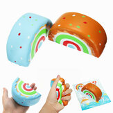 Eric Squishy Rainbow Cake 10cm Slow Rising Original Packaging Collection Gift Decor Toy