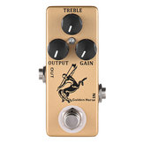 MOSKY Golden Horse Effetti a pedale per pedale Overdrive Effetti Pedal Full Metal Shell