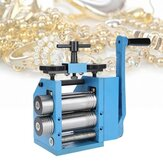 Manual Combination Rolling Mill Machine Jewelry Tabletting Processing Equipment