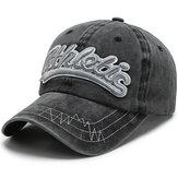 Outdoor Haftowane litery Spersonalizowana obszywana Myta czapka bejsbolówka z daszkiem przeciwsłonecznym