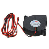 3Pcs DC24V Cooling Fan Ultra Quiet Turbine Small DC Blower 5015 For 3D Printer Circuit Board
