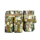 Tactical Waist Bag Pouch Haversack Messenger Bag Met Bottle Pack Voor Camping Wandelen