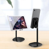 Bakeey Portable Telescopic 45° Angle Height Adjustable Anti-slip Aluminium Alloy Desktop Stand Tablet Phone Holder for iPhone Xiaomi below 7.9 inch Screen Non-original