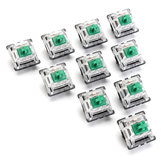 10 Pcs Interruptor Green Switch Gateron para Mecânico Teclado Switch
