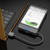 Корпус твердотельного накопителя 2,5 дюйма Чехол Жесткий диск Sata - USB 3.0 Коробка Адаптер корпуса жесткого диска 5 Гбит / с