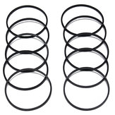 10pcs Carburador Float Bowl Gaskets Para Briggs Stratton 693981 280492 Motor