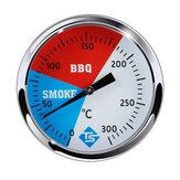 Bakeey 300℃2インチステンレスバーベキューバーベキュー喫煙グリル温度計家庭用オーブン温度計温度計ベーキングガジェット