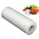 1Roll 15cm x 500cm真空シーラーのフレッシュな保管袋一般的な真空保管袋食品保護具