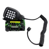 QYT KT-8900 Mini Mobile Radio Dual band V/UHF136-174/400-480MHz Transceiver Camouflage Color